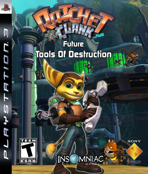 El cambio de Ratchet Ratchet_and_clank_future_-_tools_of_destruction_box_art