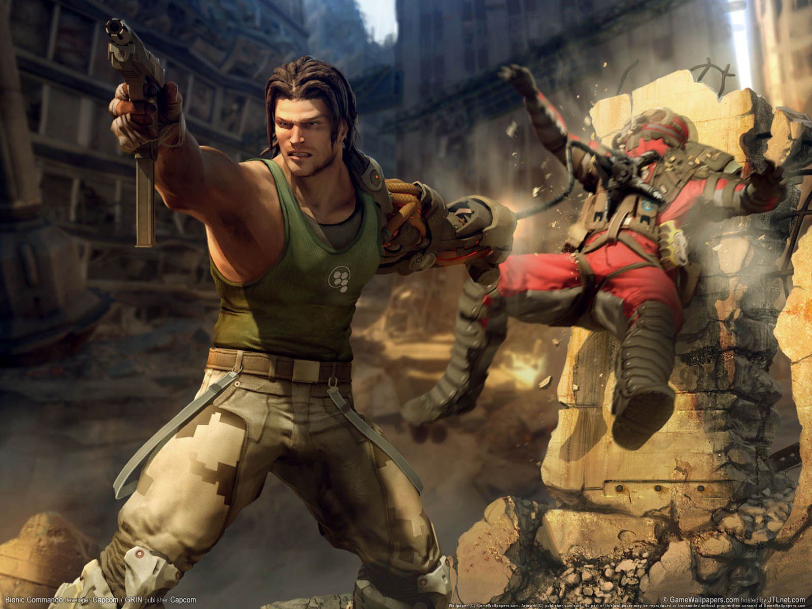 Nathan Spencer (Bionic Commando)